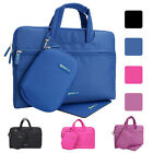 """13.3"""" Laptop Sleeve Handle Tote Case Bag Waterproof Briefcase w/ Pouch&MousePad"""