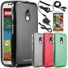 Frosted Matte Soft TPU Gel Case Cover For Motorola Moto X 2nd Gen Accessories