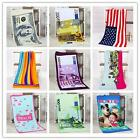 One Hundred Euro / Dollar / Flower Beach Bath Towel BLANKET Money Design Gift -Z