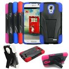 Rugged Case For LG Access LTE Hybrid Cover Kickstand / For LG 31g Cover Case