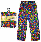 Men's Retro Comic Marvel Hulk Ironman Captain America Lounge Pants S M L XL NEW