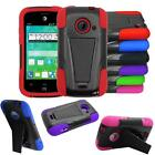 Phone Case For ZTE whirl 2 z667g / ZTE Zinger z667t Rugged Hybrid Cover case