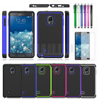 Armor Hybrid Hard Impact Case Cover Skin For Samsung Galaxy Note Edge N915s+Film