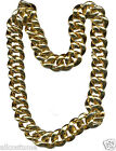 """Rapper Necklace Costume Bling Necklace Thick 36"""" FREE USA SHIPPING NPCHN"""