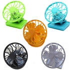 Mini Portable Cool Solar Powered Energy Panel Clip-On Cap Hat Cooling Cooler Fan