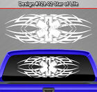 Design #129-02 STAR OF LIFE EMT EMS Rear Window Decal Sticker Graphic Tribal Car