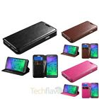 Stand Flip Leather Wallet Case Cover For Samsung Galaxy Alpha SM-G850A  G850T