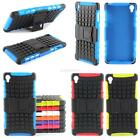 Rugged Impact Armor Hybrid Case Hard Cover Stand Skin For Sony Xperia Z3 D6653