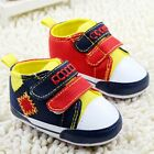 Toddler Baby boy crib shoes casual shoes Sports shoes size 0-6 6-12 12-18 months