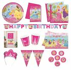 DISNEY PRINCESS Summer Palace Birthday PARTY RANGE (Partyware/Decoration)