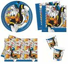 DONALD (Duck) MANIA Birthday PARTY RANGE (Partyware/Celebration/Decoration)