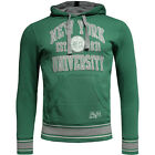 Champion New York University Green Mens Hoodie Jumper (207148CSC 3557 U36)