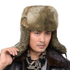 Mad Selling Jewelry Real Farm Rabbit Fur Warm Hat/Russian Bombers Guard Cheek