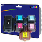 1 Set of non-genuine Compatible Printer Ink Cartridges for HP No. 363 Range