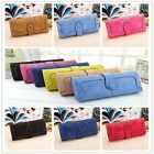 Chic Retro PU Leather Wallet Lady Long Purse Handbag Nice Style Big Capacity Z