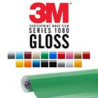 3M Wrap Film Series 1080 GLOSS Colored Vinyl Sheet Decal Roll - Pick Your Color