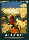 people free images - People of Algerie Algeria North Africa Travel Tourism Vintage Poster Rep FREE SH