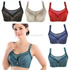 Anti Emptied Gather Push Up Padded Underwire Bra Size 36 38 40 42  C D #BR10