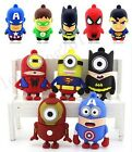 New Cartoon Model  4GB 8G 16GB 32GB USB2.0 Flash Memory Stick Pen Drive 8G Gift