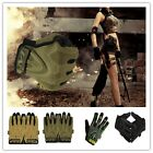 1Pair Military Tactical Outdoors Sports Shooting Full Finger Gloves Vogue -Z