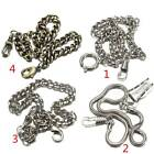 Bronze Silver Colour Alloy Antique Quartz Vintage Fob Albert Pocket Watch Chain