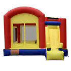 Super Slide Castle Inflatable Mighty Bounce House Moonwalk Jump Castle w Blower