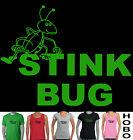 Stink Bug Smelly Funny slogan T-shirt fart Men's Ladies Singlets size top new