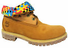 Timberland AF Roll Top Mens Boots Wheat Leather UK 7.5 (6827A) U125