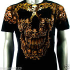 Artful Couture T-Shirt Sz M L XL XXL Tattoo Skull Heavy Metal Rockabilly AB51 D1