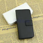 Fashion PU Leather Credit Card Holder Wallet Flip Case Cover For iPhone 5 5G 5S