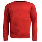 Timberland 12GG Crew Neck Cotton Red Jumper Mens (4712J 934) U36