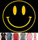 Smiley Face Acid dance trance Aussie T-Shirt Singlet Men's ladies House New Tee