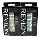 2 x Revlon Nail Art 3D Jewel 18 Appliques Denim Diamonds Star Yellow Blue