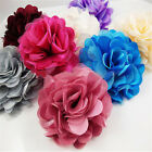 Hot Sale Flowers Brooch Hair Pins Clips Shoes Accessory Decoration Silk Lace