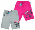 Girl's Official Monster High Skull Summer Fashion Cotton Shorts 8-14 Years NEW