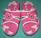New Women Slippers shoes butterfly pink Size US 4 to 9