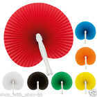 25 x Handheld Mini Folding Paper Fan-Summer Party Gift Wedding Favour Decoration
