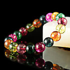 Fashion jewelry tourmaline water melon crystal bracelet 8 10 12mm AAA