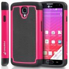 Hybrid Dual Layer Rugged Heavy Duty Impact Armor Case Cover For LG Volt LS740