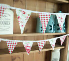 Brand New CATH KIDSTON Rosali Fabric Double Sided Bunting - large or small (1)