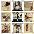 Cushion Covers Classic Vintage Tapestry Designer Cotton New FREE POSTAGE