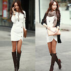Sexy Fashion Women Bodycon Bandage Long Sleeve Evening Party Clubwear Dress