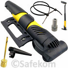 Bike Bicycle Presta & Schrader Tube Valve Air Inflator Mini Portable Tyre Pump