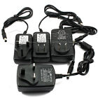 DC 12V 1A/2A Power Supply Charger AC Adapter Plug For 3528 5050 LED Strip Lights