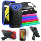 Phone Case For Motorola Moto E LTE Rugged Hard Cover Stand Screen Guard XT1524