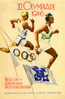 1936 Berlin Germany Europe Olympics Sport Games Vintage Poster Repro FREE S/H US