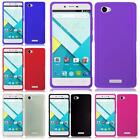 For BLU Studio Energy D810L Solid TPU Flexible Gel Candy Cover Case