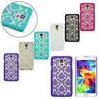 Mandala Flower Henna Floral Hard Case For Samsung Galaxy S5 G900 i9600 Lovely