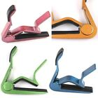 New 7 Colors Acoustic Electric Tune Quick Change Trigger Guitar Capo Key Clamp S