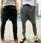Mens Boys Casual Harem Baggy Hip Hop Dance Sport Sweat Pants Trousers